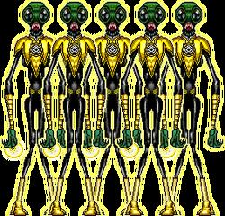 SinestroCorps Quintet Squad-(Ena Pente Tessera Theo and Tria) RichB