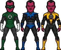 Sinestro by BAILEY2088