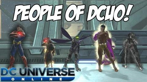 People of DCUO!