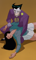 Joker abducts Lois