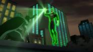 Batman and Green Lantern meet