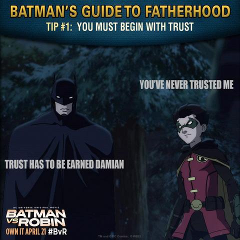 File:Batman vs. Robin Batman's guide to fatherhood tip 1.png