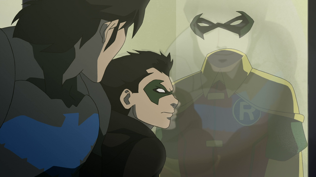 File:Dick looks upon his Robin costume.png