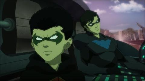 """Justice League vs. Teen Titans clip """"Robin & Nightwing"""""""