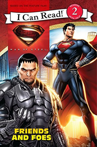 File:Man of Steel Friends and Foes (I Can Read Level 2) cover.png