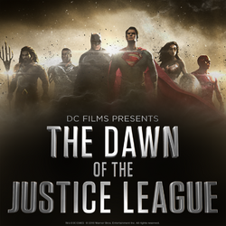 DC Films Presents The Dawn of the Justice League poster