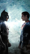 Batman v Superman Dawn of Justice textless poster - WhoWillWin