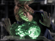 Lex observing some Kryptonite