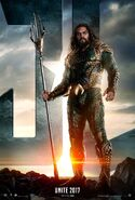 Justice League - Aquaman character poster