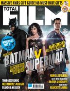 Total Film - Batman v Superman Dawn of Justice cover