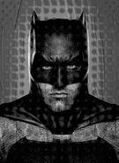 Batman v Superman Dawn of Justice IMAX poster - Batman - no logo