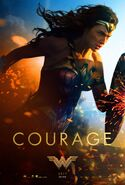 Wonder Woman poster - Courage