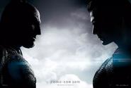 Batman v Superman Dawn of Justice Comic-Con 2015 poster