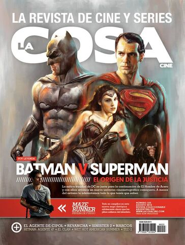 File:La Cosa Cine - Batman v Superman Dawn of Justice cover.jpg