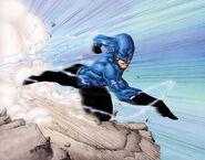 Brett Booth - Z DC Walla West Run blue