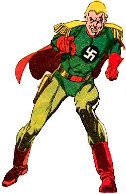 Captain Nazi Albrecht Krieger