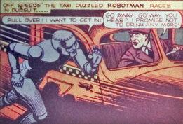 Robotman running
