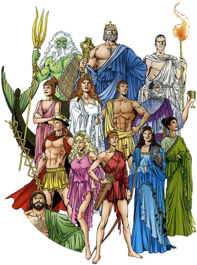 WonderWoman gods big