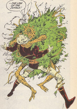 Floronic man hemo-goblin
