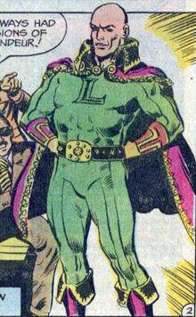 Luthor royal garments batman 293