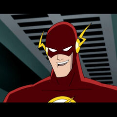 Flash in Savage's hideout.