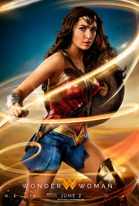 Wonder Woman Theatrical poster