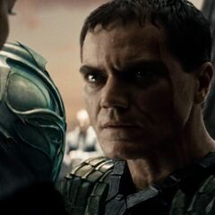 General Zod swears vengeance against the House of El.