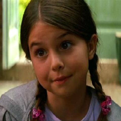 Emma Lockhart as Young Rachel Dawes.
