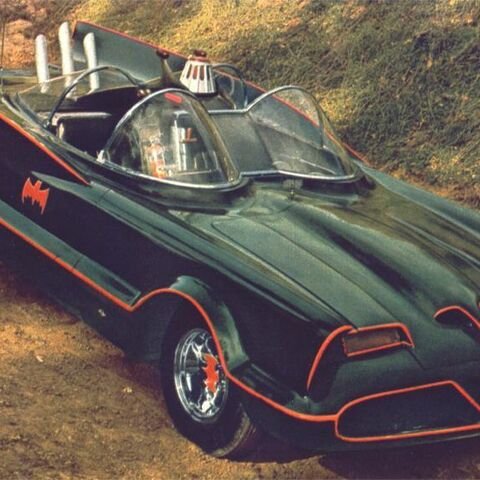 Batmobile in <i>Batman</i>.