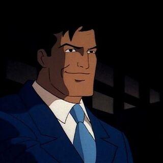 Hagen pretends to be Bruce Wayne.