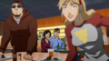 Justice League Throne of Atlantis - 10 Diane, Clark n Lois.png