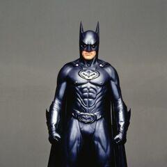 George Clooney as Batman in <i>Batman &amp; Robin</i>.
