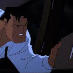 Bruce Wayne as he appears in <i>Batman &amp; Mr. Freeze: SubZero</i>.