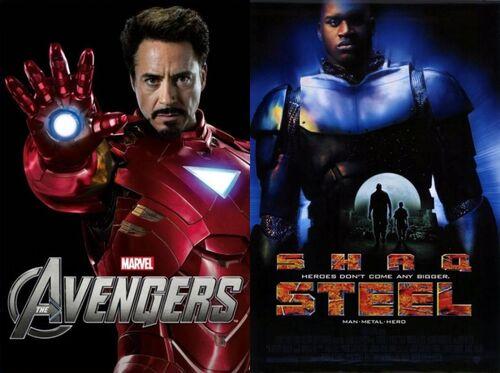 Iron Man Vs. Steel