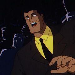 Bruce sees Dick's parents die.