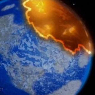 Trigon conquers the Earth.