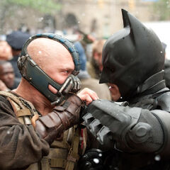 Bane and Batman.