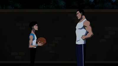 Bruce and Dick (Young Justice)