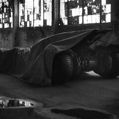 First look at the Batmobile.