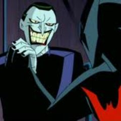 The Joker fights the new Batman in <i>Batman Beyond: Return of the Joker</i>.