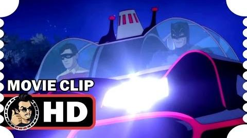 Batman Return of the Caped Crusaders MOVIE CLIP - Batmobile Exit (2016) Adam West Superhero HD