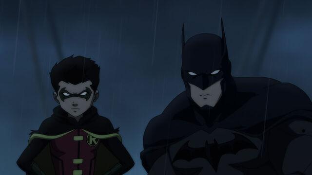 File:Damian Robin and Batman.jpg