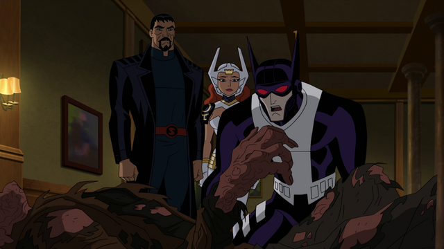 File:Batman Superman Wonder Woman horrified JLG&M .png