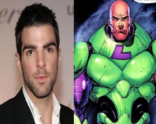 ZacharyQuinto as Lex Luthor
