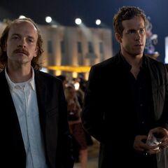 Hector Hammond and Hal Jordan