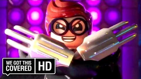 """The LEGO Batman Movie """"Robin's Costume"""" Clip HD Will Arnett, Rosario Dawson, Ralph Fiennes"""