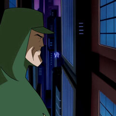 Superman in Gotham.