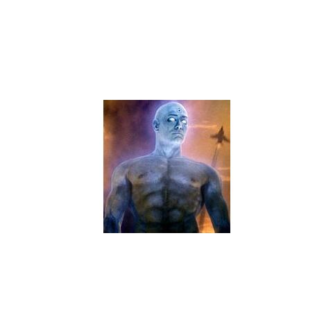 Doctor Manhattan goes to War.