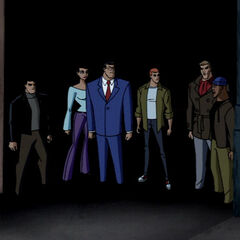 The League in the civilian disguises.