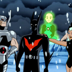 Aquagirl wants Batman to stay in Justice League.